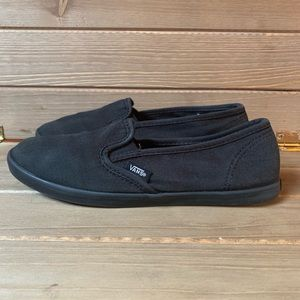 Vans Slip-On Lo Pros. Black/Black